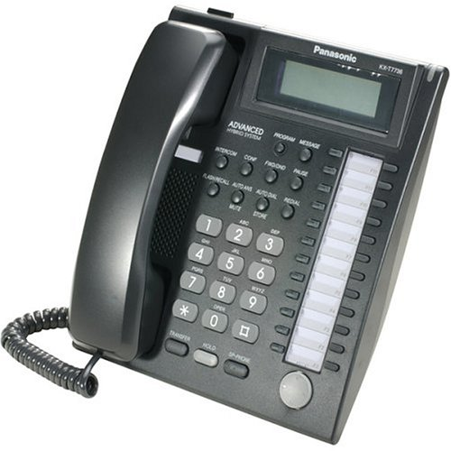 Advanced Hybrid Telephone System (Panasonic KX-T7736B 24 Button Advanced Hybrid Speakerphone)