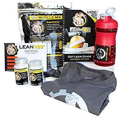 Lean 180 - 30 Day Challenge - Weight Loss Plan - Diet Plan to Lose Weight Fast and Tone Your Body - Lose up to 30 Pounds in Just 30 Days - Everything You Need to Get Lean Fast and Lose Belly Fat