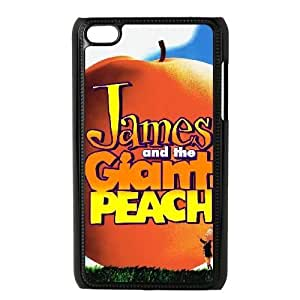 ipod 4 Black phone case Classic Style Disney Cartoon James and the Giant Peach WHD8979322