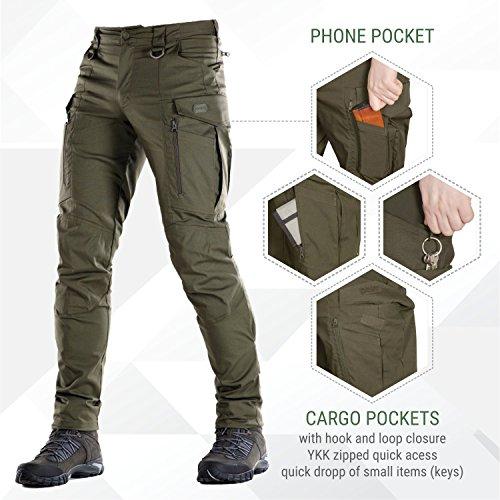 290924c2eb Jual Conquistador Flex - Tactical Pants Men - with Cargo Pockets ...