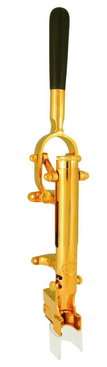 BOJ Gold Wall-mounted Corkscrew (24 karat Gold Limited Edition)