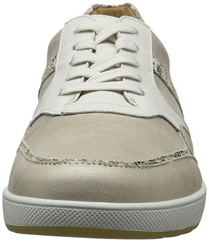 208111 Creme Ganter Beige Mujer 3 Weiss Zapatillas qYBP5rY