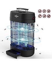Zanzariera elettrica, Zanzariera per mosche elettroniche, Potente griglia 1800V con ganci per luce caduta UV, Trappola per insetti per interni di grandi dimensioni per uso domestico e commerciale