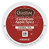 Celestial Seasonings Cinnamon Apple Spice Herbal Tea K Cups 24 count