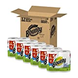 Bounty, HugeWhite Select-A-Size PaperTowels, Total of 24 Rolls Family Jumbo Pkg