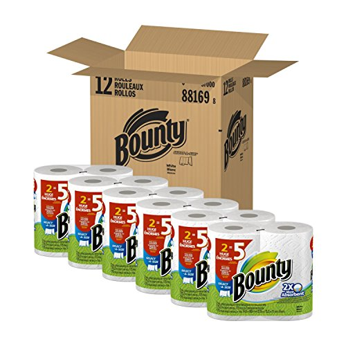 Bounty, HugeWhite Select-A-Size PaperTowels, Discounted Pack