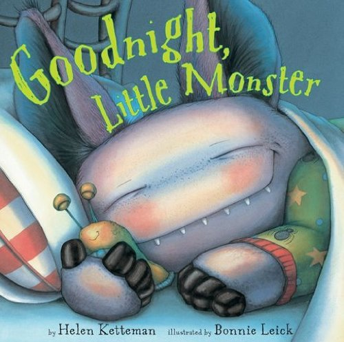 Goodnight, Little Monster (Cute Halloween Stories)