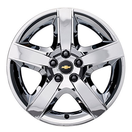 - GM # 19166165 Wheel Covers - 17-Inch Chrome with Chevy Bowtie Logo