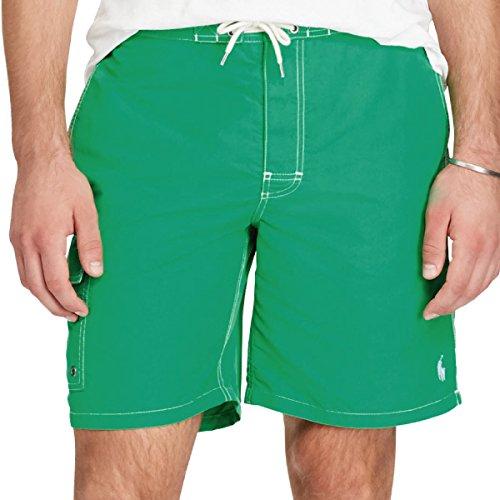 (ポロ ラルフローレン) Polo Ralph Lauren《 ポニー 刺繍 サイドポケット スイムウエア 水着 : 8 1/2 Inch  Kailua Swim Trunk 》 [並行輸入品]