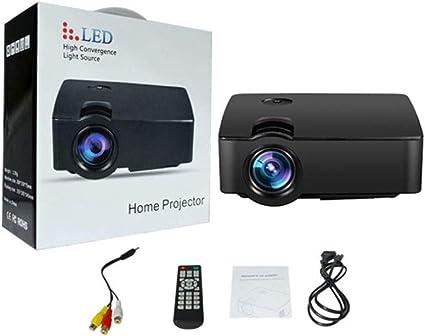 WHLDCD Proyector Mini Home Multimedia Cinema LED Tecnología HD ...