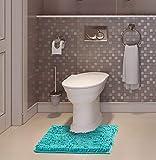 LuxUrux 2 Piece Bath Mat Set –Extra-Soft Plush