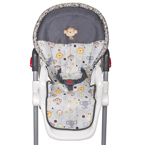 51GTKJNG5EL - Baby Trend Sit Right High Chair, Bobble Heads