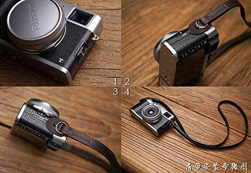 Mr.stone Handmade Genuine Leather Camera Strap Camera Shoulder Sling Belt Fine Shoulder Strap Double-Sided Leather(WJG002)