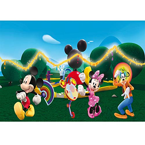 - Photo Background Kids 7x5ft Mickey Mouse Clubhouse Backdrop Sweety Honey Photography Backdrop Newborn Vinyl Photo Studio Background Birthday Tabletop Banner