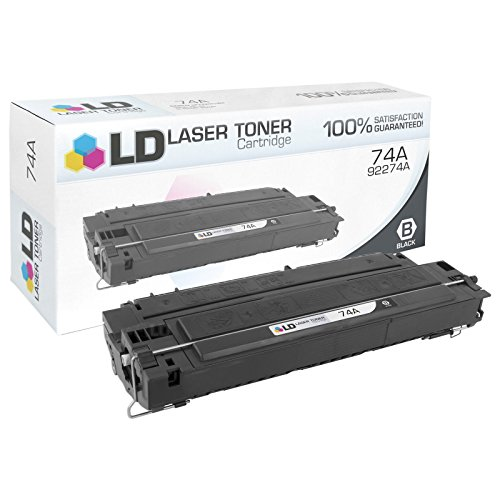 LD Remanufactured Toner Cartridge Replacement for HP 74A 92274A (Black) (Hp Laserjet 4mp Printer)
