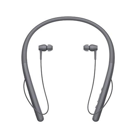 Sony WIH700 - Auriculares Neckband inalámbricos (Hi-Res Audio, H.Ear, diseño Ligero, Bluetooth, Compatible con aplicación Headphones Connect) Negro: ...