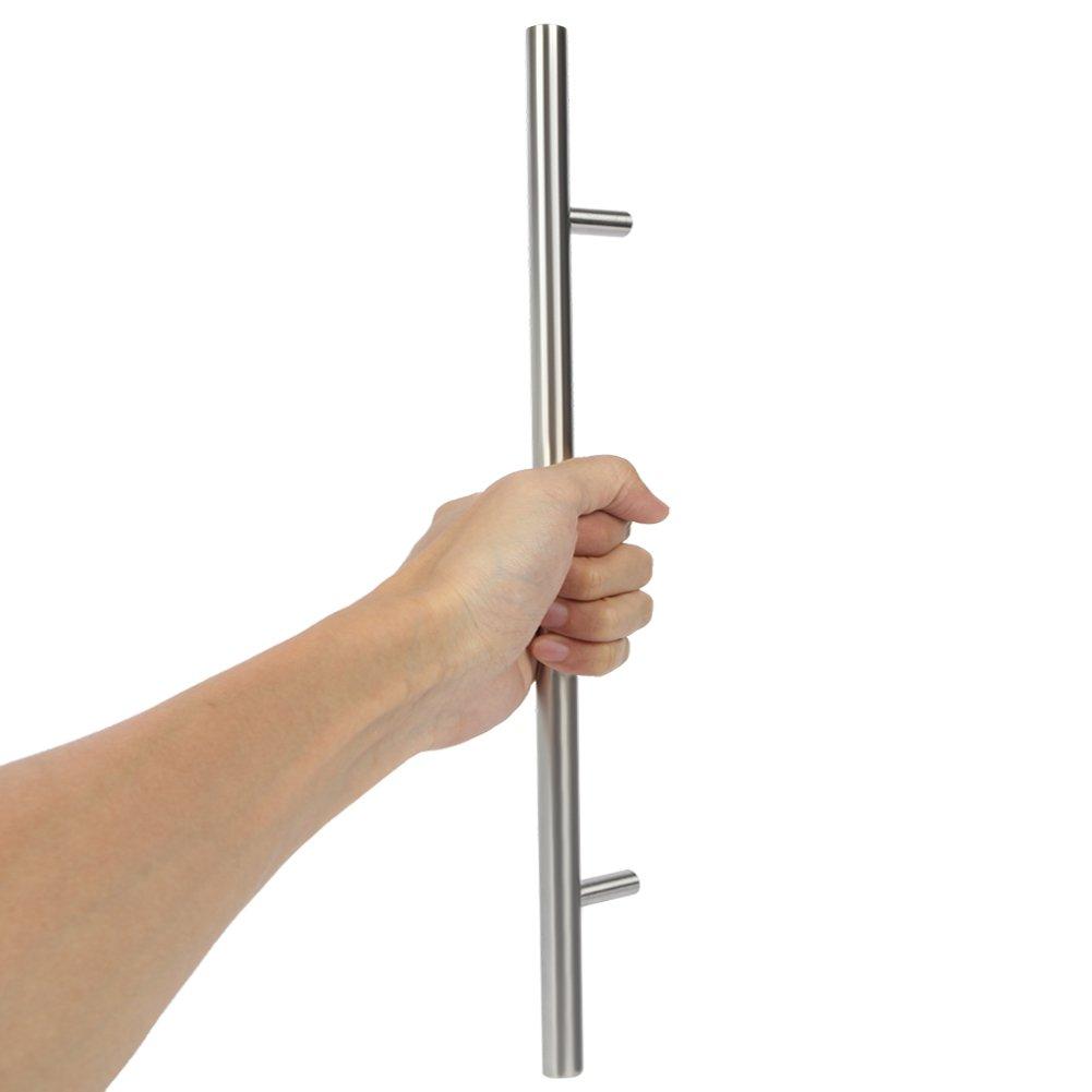 10/x tubo de acero inoxidable set de tiradores para muebles barras de agarre empu/ñaduras /Ø 12 mm.