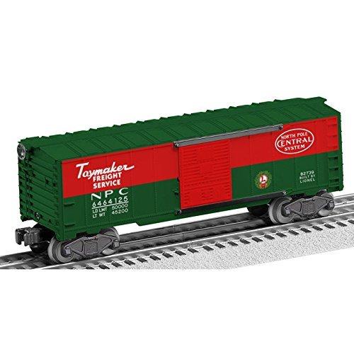 Lionel #6464-125 North Pole Central (Lionel 6464 Boxcar)