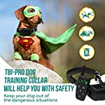 [Upgraded 2020] Dog Training Collar with Remote - Shock Collar for Dogs Range 1600 feet, Vibration Control, Rechargeable Bark E-Collar - IPX7 Waterproof for Small, Medium, Large Dogs, All Breeds 16