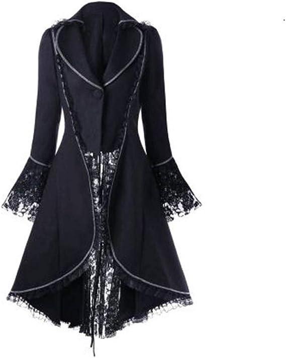 Robe Punk Manteau Magiyard Costume Veste Femme Punk Femme TlK3JcF1