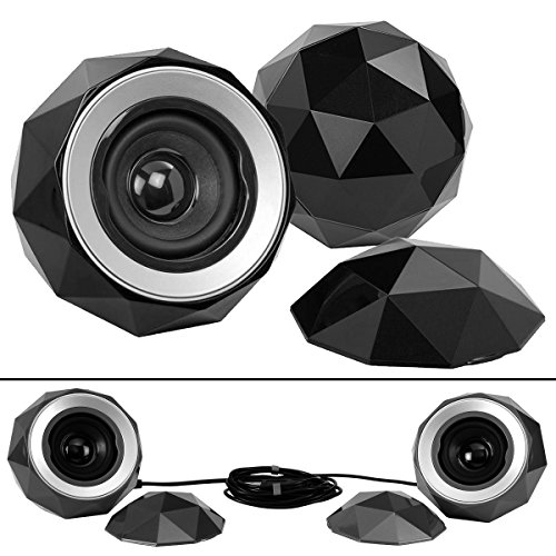 digital-treasures-09369-pg-lyrix-powerball-x2-bluetooth-speaker-black