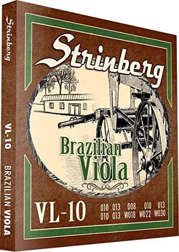 Encordoamento para Viola Caipira Strinberg VL-10
