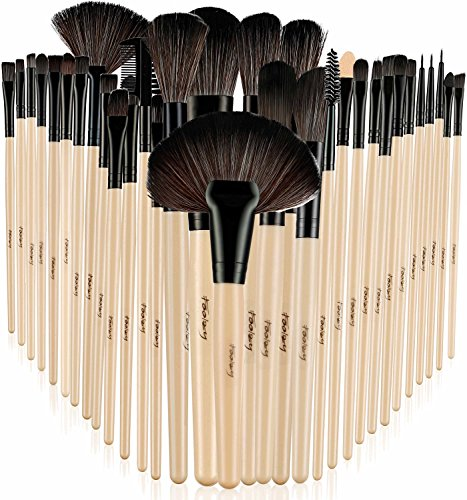 Foolzy® 32 Professional Makeup Brush Set with Travel Case (BR-6C)