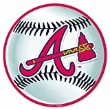 Baseball Dream Atlanta Braves Cutouts Wall Decoration, Cardstock, 12""