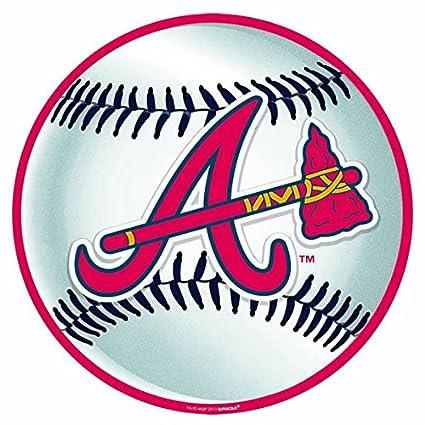 amazon com atlanta braves major league baseball collection cutout