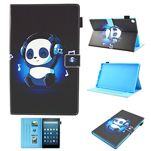 Uliking Stand Case for Amazon Kindle Fire HD 10 Tablet 10.1