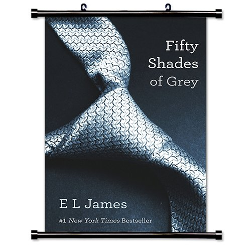 Fifty Shades of Grey (E L James) Fabric Wall Scroll Poster (16 x 25) Inches (Scroll Shade Fabric)