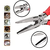 VamPLIERS Best Made Pliers! 7.5'' Long Nose Specialty Screw Extraction Pliers for Damage/Stripped/Corroded/Security Screws/Made the Best Gift (1, Retail)