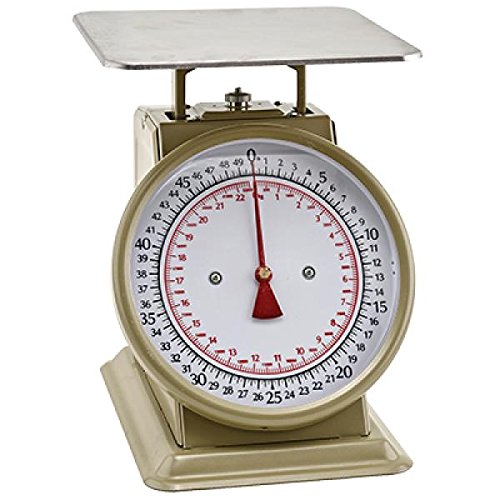 Winco SCLH-2, 32-Ounce Multifunction Kitchen and Food Scale, Stainless Steel Mechanical Measuring Commercial Grade Portion-Control Scales by Winco