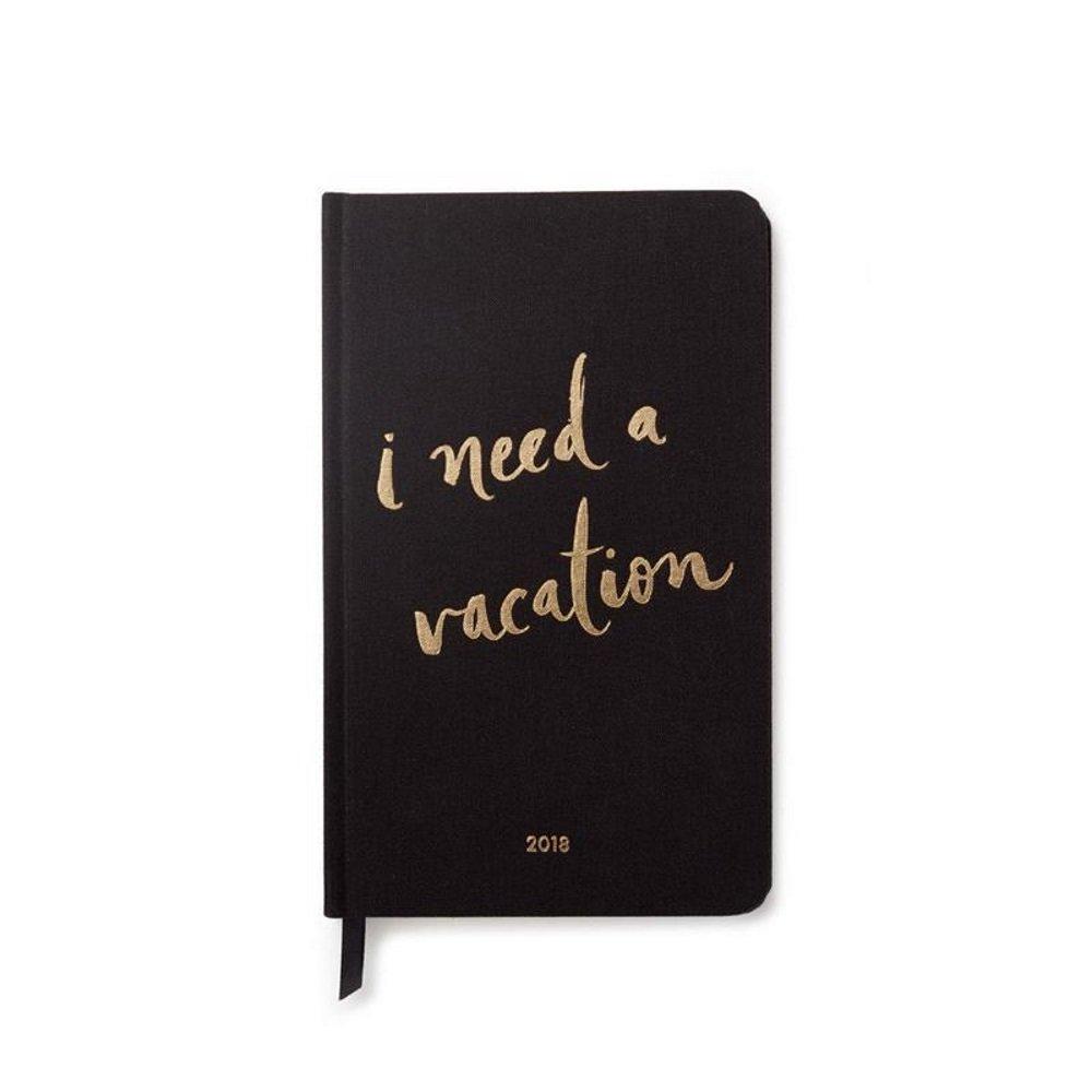 Kate Spade 2018 Academic Calender, I Need A Vacation (173349)