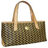Aristo Brown East-West Handle Bag by Rioni Designer Handbags & Luggage