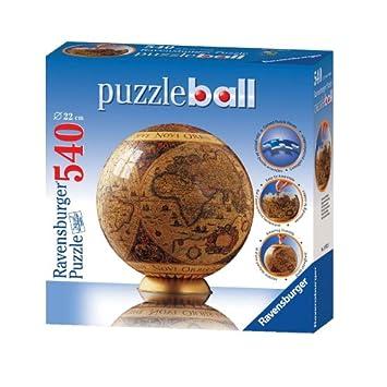 Ravensburger puzzleball historic world map 540 pieces amazon ravensburger puzzleball historic world map 540 pieces gumiabroncs Choice Image