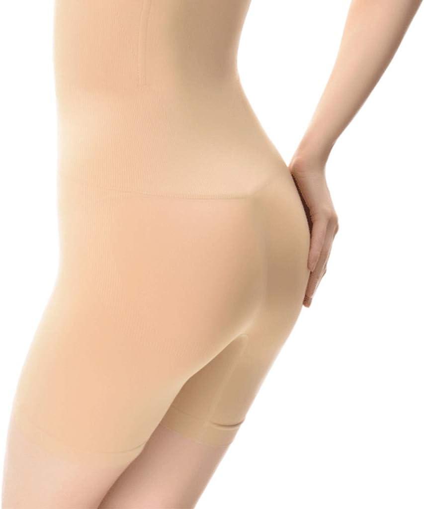 Mikiya Womens Seamless High Waisted Shapewear Shorts Compression Body Shaper Panties Tummy Control Butt Lifter Thigh Slimmer Underwear
