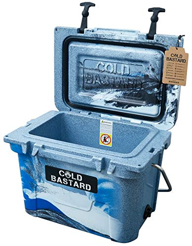 Amazon com : Rigid Series 20QT CAMO Ocean Cold Bastard ICE