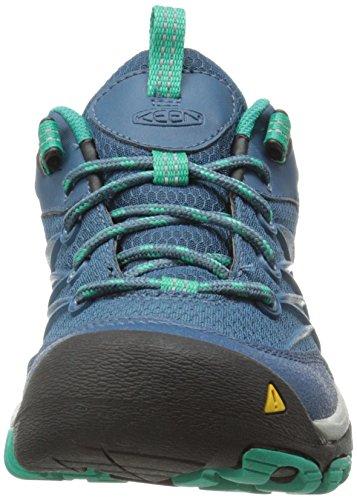 Keen Womens Marshall Waterproof Hiking Shoe Indian Teal/Dynasty Green
