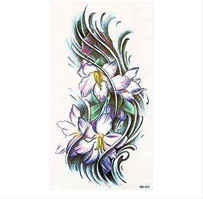 yyyDL Adesivi per tatuaggi temporanei Art Waterproof Unisex Tiempo ...
