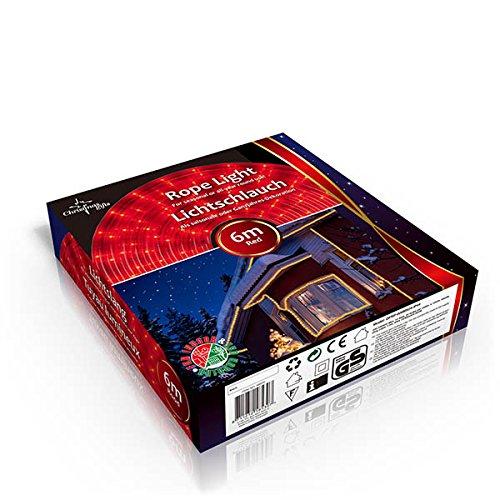 Christmas Gifts X-mas de luces para exteriores, 9 m, 230 V, rojo 48650