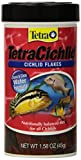Tetra TetraCichlid Cichlid Flakes Food, 1.75-Pound