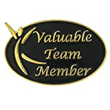PinMart's Valuable Team Member Corporate Enamel Lapel Pin