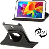 "APS - Black 360 Degree Rotating Smart Leather Book Case Flip Cover Pouch FOR SAMSUNG GALAXY TAB T230 7"" TABLET"