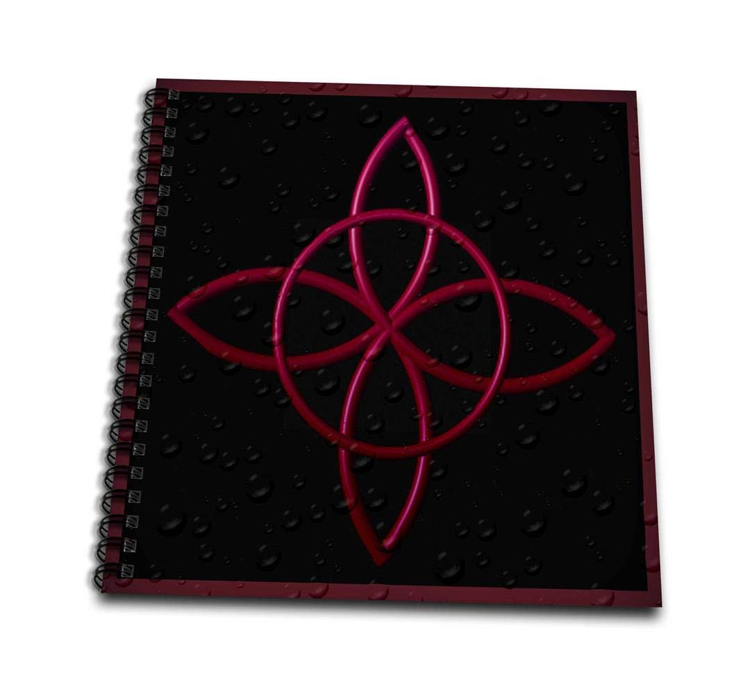 12 by 12-Inch 3dRose db/_162097/_2 A Celtic Design Knot in Magenta-Memory Book