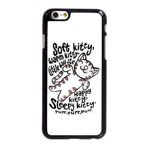 Big Bang Theory Soft Kitty V6B75Q4CC coque iPhone 6 6S Plus 5.5 Inch case coque black 024XB8