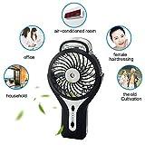 WIOR Handheld Mini USB Misting Fan Water Spray Fan
