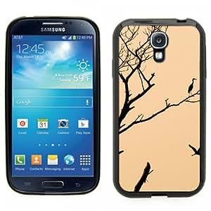 Pink Ladoo? Samsung Galaxy S4 Black Case - Artistic Bird in a tree Cute