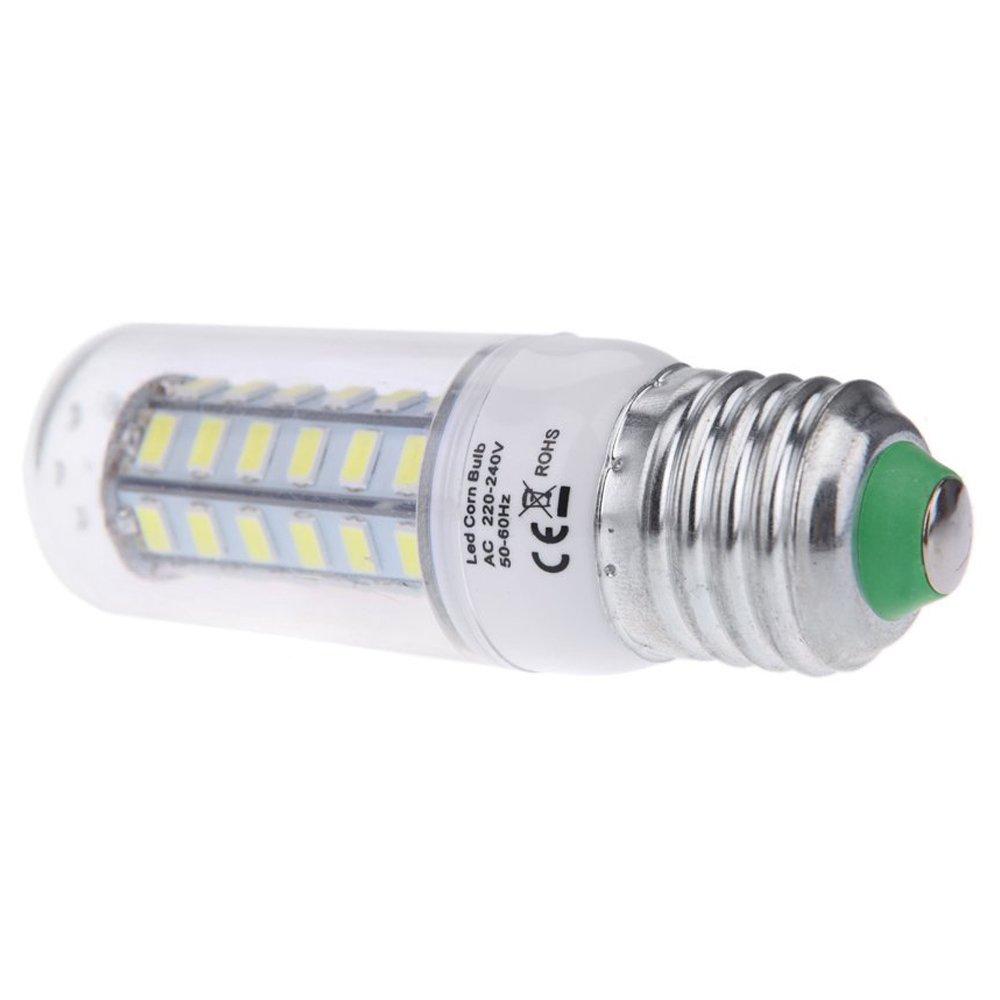 SODIAL(R)E27 10W 5730 SMD 48 LEDs Maiz lamparas Bombilla Energia Eficiente 360 ¡ ã Grados Blanco calido 220-240V