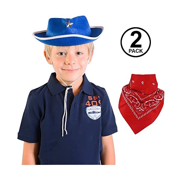 02ff718c On Sale. $7.99 – $24.99. Child Cowboy Hat and Bandana is a Great for dress  up ...